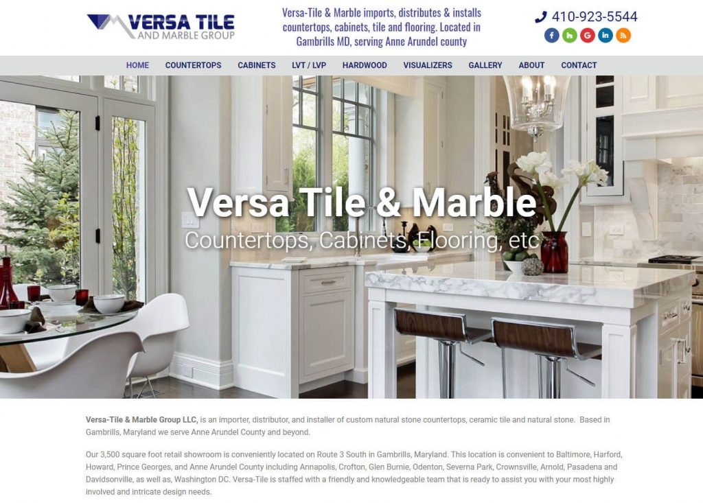 versa tile marble and granite in gambrills maryland