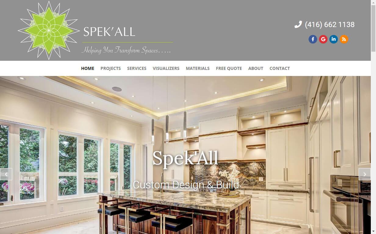 build design website